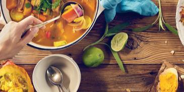 Curry z dynią z Bulionem Warzywnym Winiary