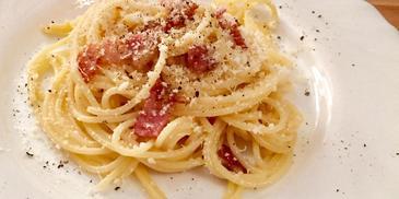 Oryginalne spaghetti carbonara