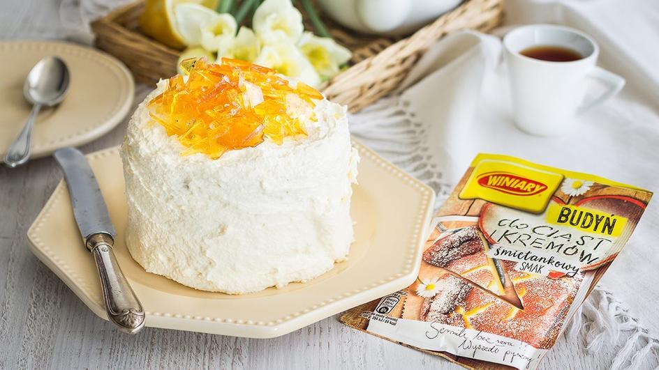 Cytrusowy torcik Crème brûlée blogerki Ósmy kolor tęczy