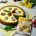 Cytrynowy sernik z truskawkami blogerki Kulinarne Przygody Gatity
