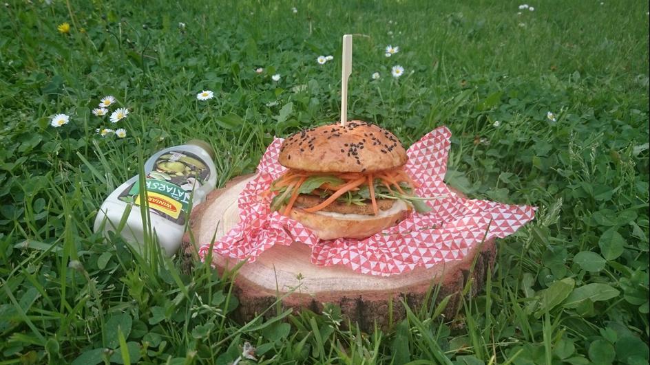 Grillowane burgery wegetariańskie
