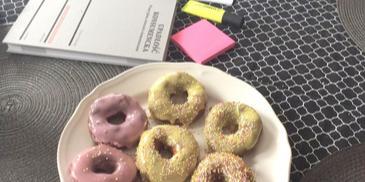 Donuts - Oponki z ksylitolem i olejem kokosowym z bloga Kuchnia-SmakuPL