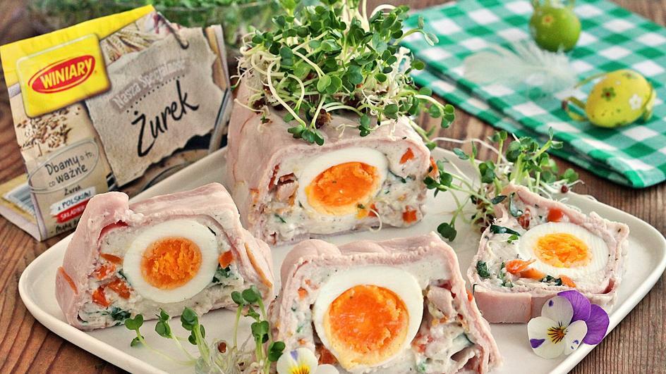 Terrina z żurkiem i jajem