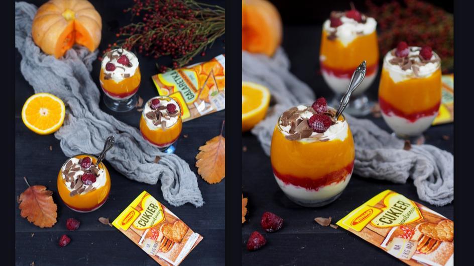 Deser dyniowy z nutką pomarańczy i mascarpone