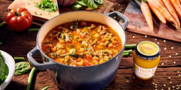 Minestrone – włoska zupa warzywna