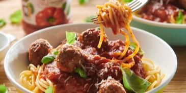 Spaghetti z pulpecikami