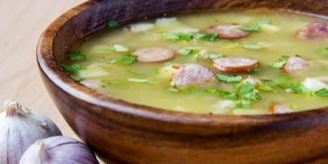 Zupa grochowa inaczej