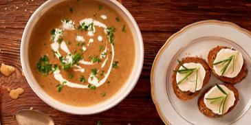 Zupa - krem z borowików