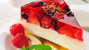 Tort owocowy na zimno