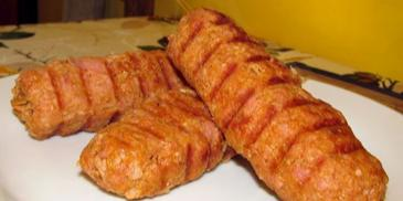 Kebab na patyku z grilla