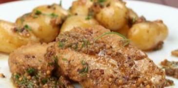 Soczysta karkówka z ziemniakami