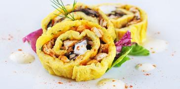 Rolada z serem i majonezem