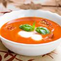 Zupa pomidorowa z suszonymi pomidorami