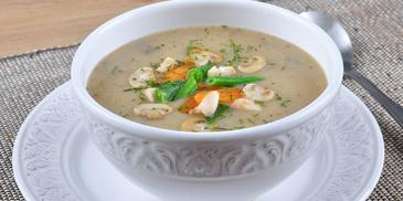 Zupa pieczarkowa z serkiem topionym