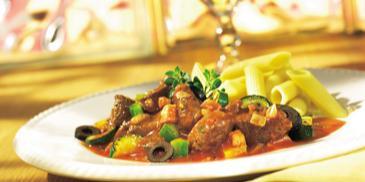 Śródziemnomorski garnek z wołowiną