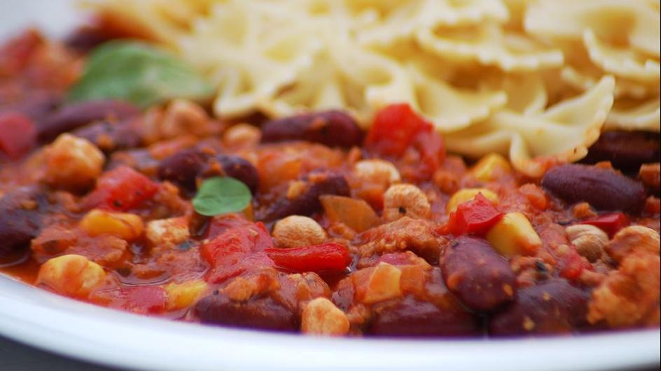Chili con carne z ciecierzycą