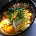 Supa de noodles si varza murata