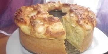 Ciasto dyniowe na drożdżach z jabłkiem