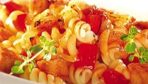 Zapiekanka włoska z kurczakiem