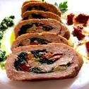 Rolada z mięsa mielonego z warzywami