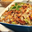 Zapiekanka z ryżu i soczewicy