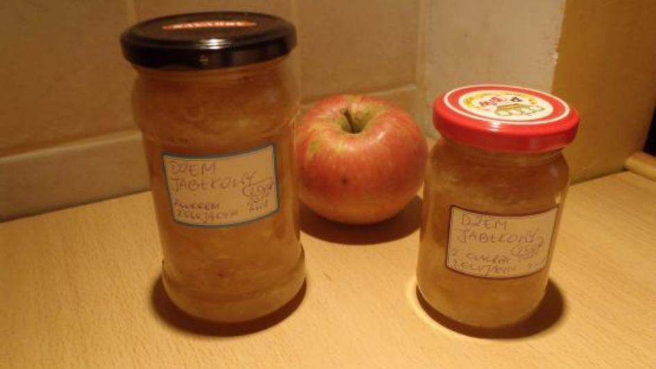 Dżem jabłkowy z cukrem żelującym