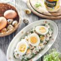Jajka w sosie majonezowym