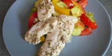 Kurczak smażony w ziołach i jogurcie