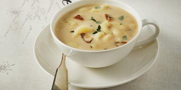 Zupa grzybowa z kolankami