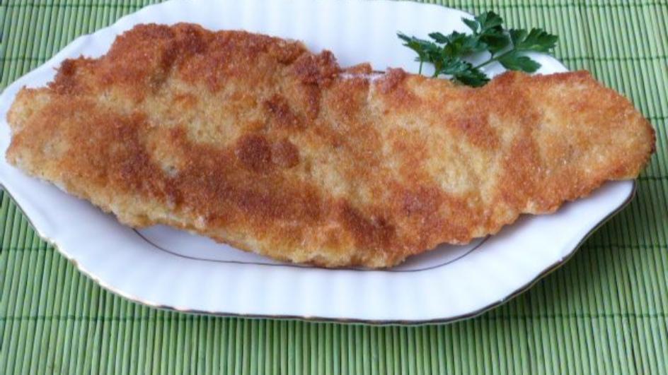 Filety z morszczuka w panierce z serem