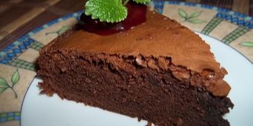 Ciasto czekoladowe a''la brownie