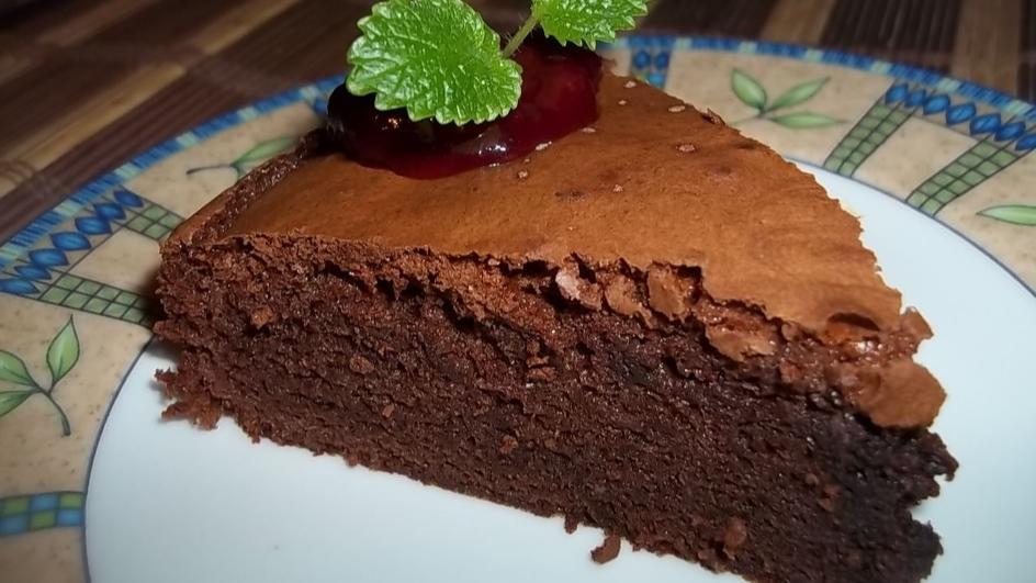 Ciasto czekoladowe à la brownie