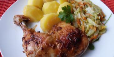 Udka z kurczaka w marynacie