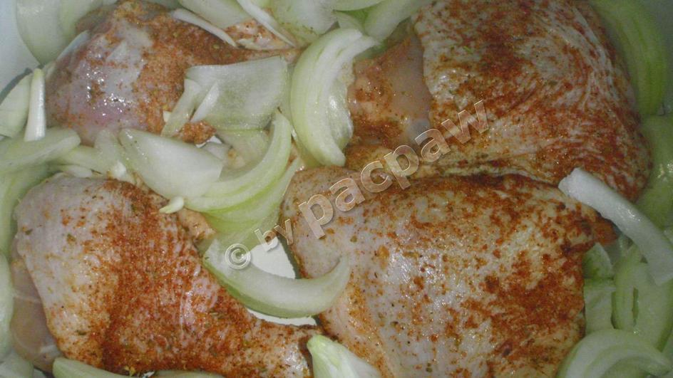 Kurczak gyros z pieczonym topinamburem