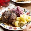 Rolady śląskie, czyli śląski obiad