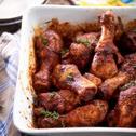 Soczysty kurczak z papryką i ziołami