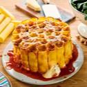 Tort cannelloni zapiekany z ricottą, orzechami i parmezanem