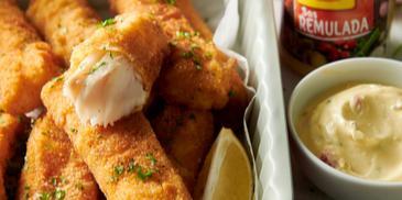 Przepis na domowe paluszki rybne  z piekarnika