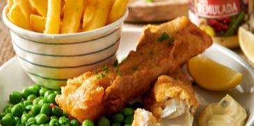Fish and chips, czyli ryba z frytkami