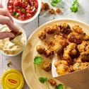 Brokuł i kalafior w cieście – warzywny popcorn