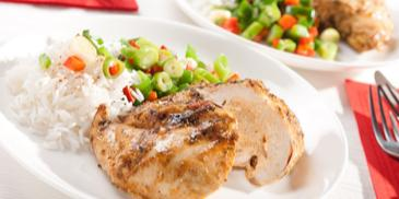 Faszerowane filety z piersi kurczaka z woreczka do pieczenia