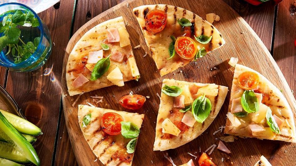 Domowa pizza z grilla