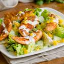 Sałatka warzywna z kurczakiem