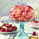 Galaretkowy tort truskawkowe szaleństwo