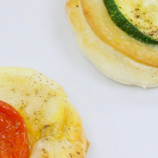 Dischi di Pasta Sfoglia Delicata Buitoni con formaggio e verdura