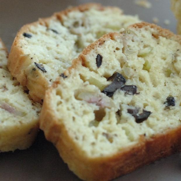 Plumcake salato alle olive