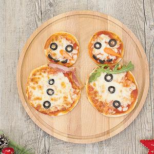Pupazzi di neve di pizza