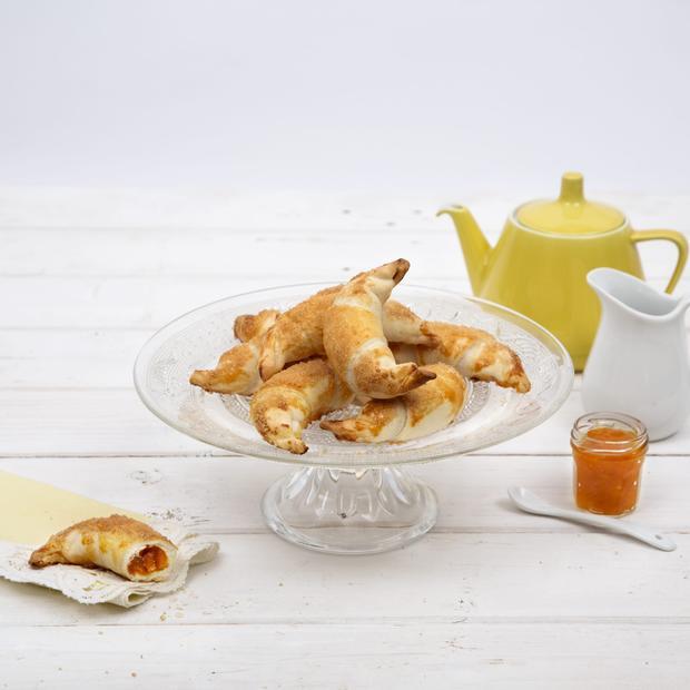 Croissant senza glutine all'albicocca