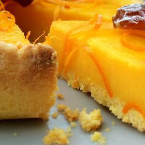 Crostata di arance e datteri