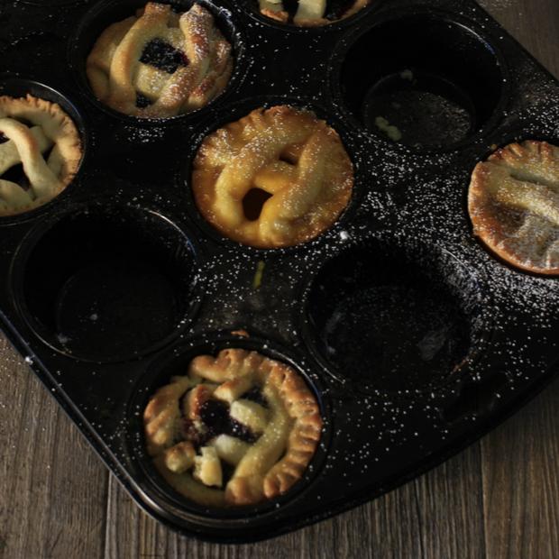Crostatine muffin alla marmellata